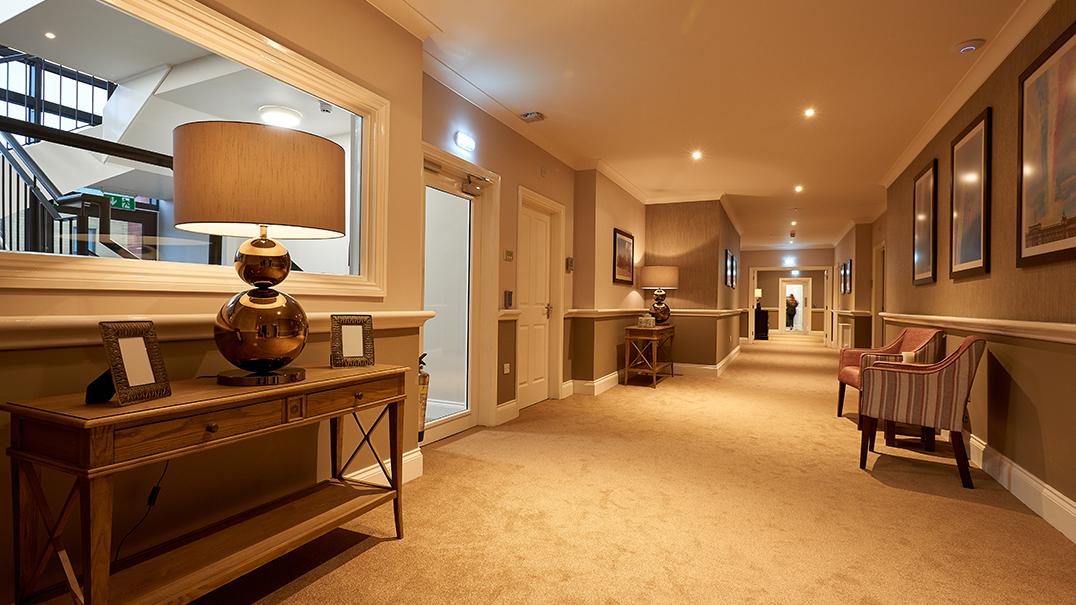 Claridge Place, hallway