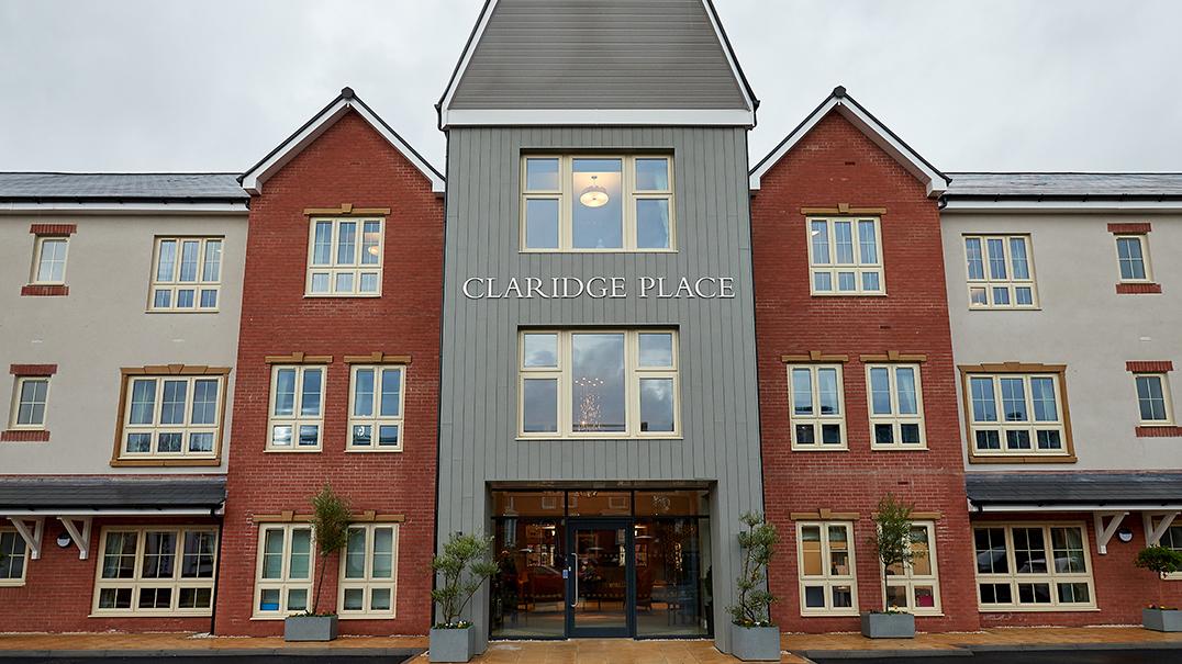 Claridge Place, front entrance