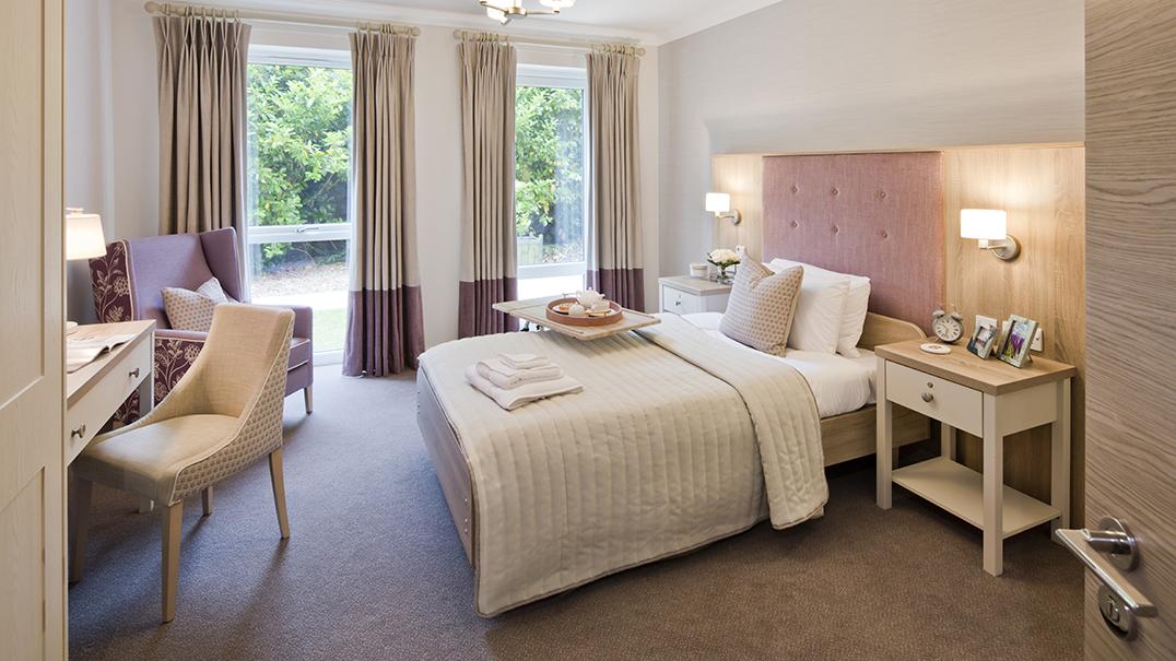 The Burlington, Altida bed